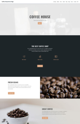 Coffee Shop - Home