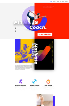 Fitness coach - Home