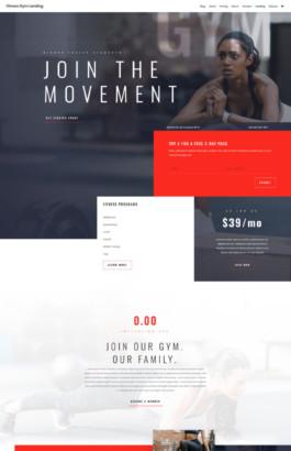 Fitness Gym - Home